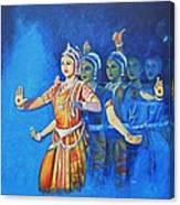 Mahishaasura Mardini Canvas Print