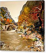 Maidens Bridge - Ura E Vashes Canvas Print