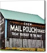 Mail Pouch Tobacco Barn II Canvas Print