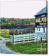 Mail Pouch Tobacco Barn In The Fall Canvas Print
