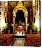 Main Altar Of Basilica Canvas Print