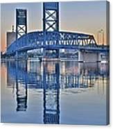 Main Street Bridge Jacksonville Florida Canvas Print