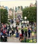 Main Street Disneyland 02 Canvas Print
