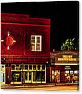 Main Street East Bernard Canvas Print