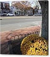 Main Street East Hampton New York Canvas Print