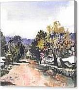 Main Street Ukarumpa Canvas Print