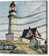 Maine 1820-1970 Canvas Print
