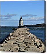 maine 43 Portland Lighthouse Canvas Print