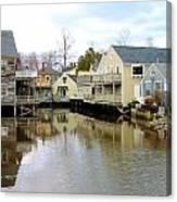 Maine Backwater Canvas Print
