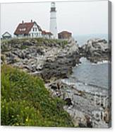 Maine Coastline  Canvas Print