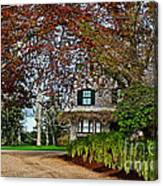 Maine Cottage In Spring Canvas Print
