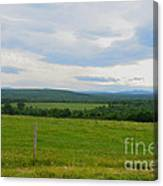 Maine Farmland Canvas Print