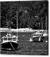 Maine Lobster Boats Canvas Print