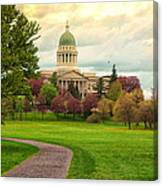 Maine State Capitol Building Canvas Print