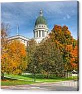 Maine State House Vii Canvas Print