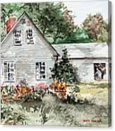 Maine Sunshine Canvas Print
