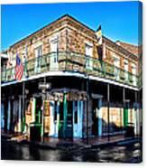 Maison Bourbon - New Orleans Canvas Print