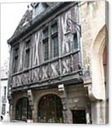 Maison Milliere - Dijon - France Canvas Print
