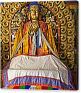 Maitreya Buddha Erdene Zuu Monastery Canvas Print
