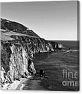 Majestic Coast Canvas Print