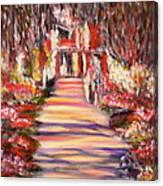 Majestic Garden Canvas Print