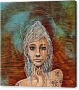 Majestic Girl #1 Canvas Print