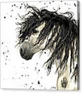 Majestic Grey Spirit Horse #44 Canvas Print