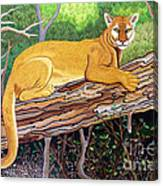 Majestic Hand Embroidery Canvas Print