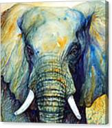 Majestic-iii Dappled Canvas Print