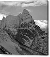 Majestic Peaks Canvas Print