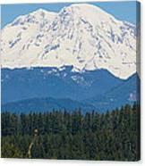Majestic Rainier Canvas Print