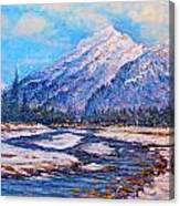 Majestic Rise - Impressionism Canvas Print