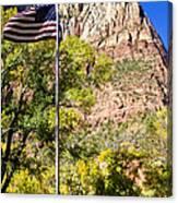 Majestic Sight - Zion National Park Canvas Print