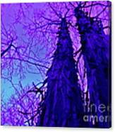 Majestic Tree Of Wild Texture Canvas Print