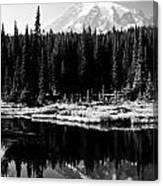 Majestic View 2bw Canvas Print