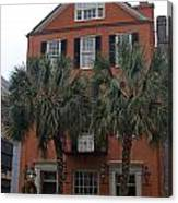 Major Peter Bocquet House Charleston South Carolina Canvas Print