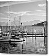 Makah Tribal Trawlers  Canvas Print