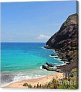Makapu'u Beach  Canvas Print