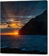 Makapuu Sunrise Canvas Print