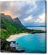 Makapu'u Sunset Canvas Print