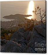 Makarska - Evening Light Canvas Print