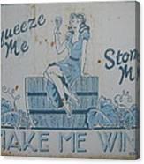 Make Me Wine Canvas Print