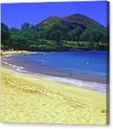 Makena Beach Maui Hawaii Canvas Print