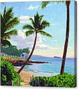 Makena Beach - Maui Canvas Print