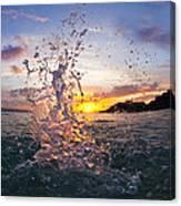 Makena Splash Canvas Print