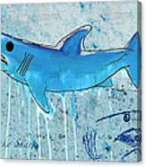 Mako Shark Canvas Print