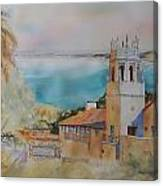 Malaga Cove Canvas Print