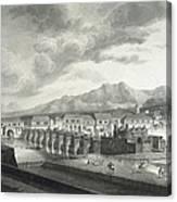 Malaspina Expedition. Philipines 1792 Canvas Print