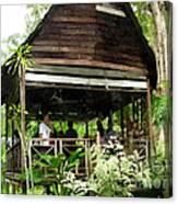 Malay Hut Canvas Print