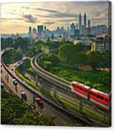 Malaysia - Kuala Lumpur City Canvas Print